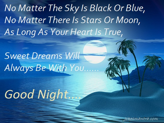 Good Night Quotes Ideas with Images