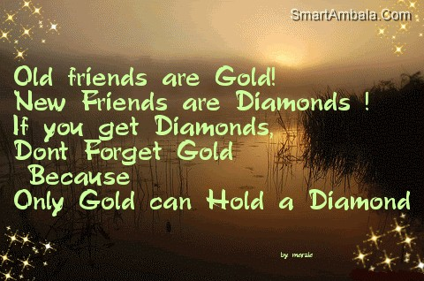 Old Friend Are Gold Friendship Quote Quotespictures Com