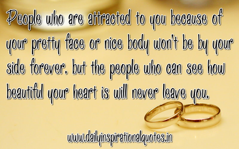 People Who are Attracted to you because of your pretty face ...