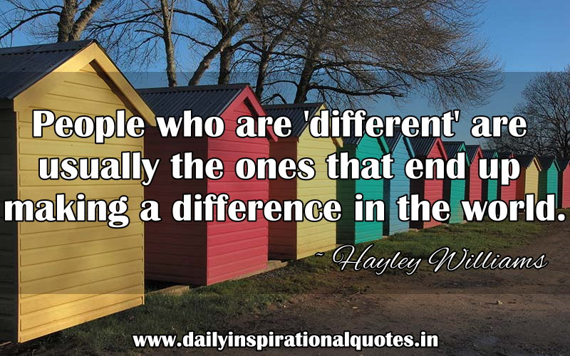 Making A Difference In The World Quotes. QuotesGram