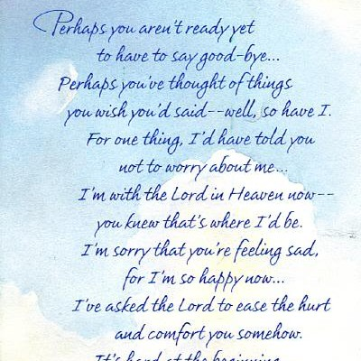 Delightful Perhaps You Arenu0027t Ready Yet To Have To Say Good Bye ~ Goodbye Quote