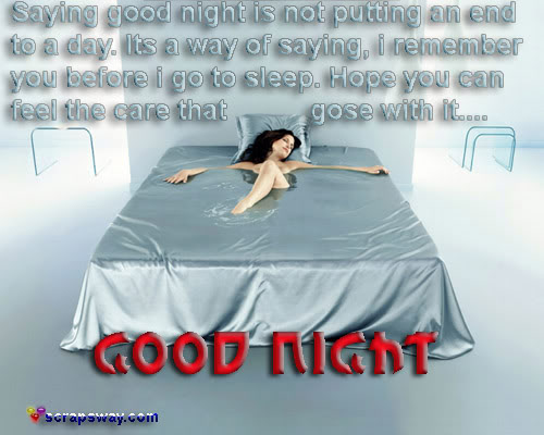 Saying good night is not putting an end to a day good night quote jpg
