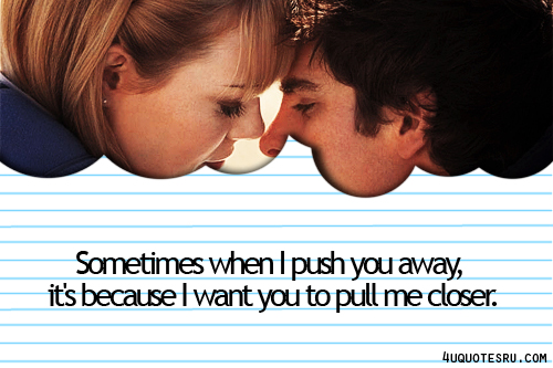 Sometimes It S Better To Push Someone Away Not Because: Inspirational Quotes Pictures And Inspirational Quotes