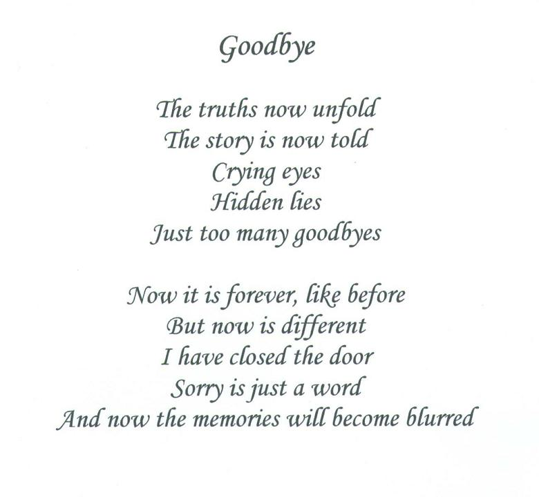 Goodbye Sad Quotes About Love : Sad Quotes About Saying Goodbye. QuotesGram