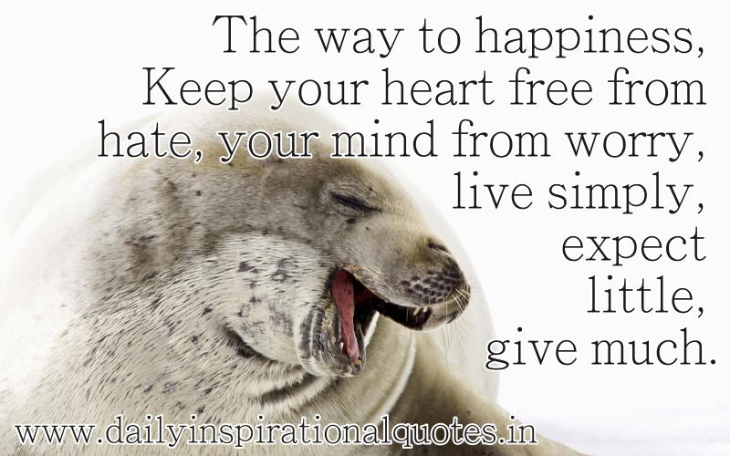 When Your Heart Is Happy Your Mind Is Free: Inspirational Quotes Pictures And Inspirational Quotes