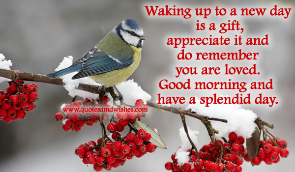 Good Morning Quotes New Day : Good morning quotes images page