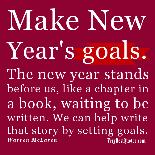 We Can Help Write that Story by Setting Goals ~ Goal Quote