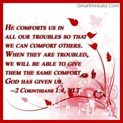 ... we-will-be-able-to-give-them-same-comfort-god-has-given-us-god-quote