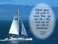 Without Goals and Plans to reach them You Are Like a Ship that Has set sail with no destination ~ Goal Quote