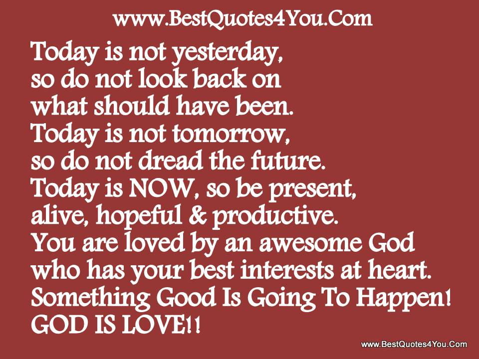 You Are Loved by an Awesome God Who has Your Best Interests at Heart ~ God Quote