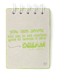 You Are Never 100 Old to set another goal or Dream a New Dream ~ Goal Quote