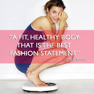 """A Fit,Healthy Body That Is The Best Fashion Statement"" ~ Health Quote"