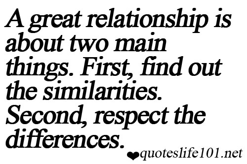 quotes about respecting others relationships quotesgram