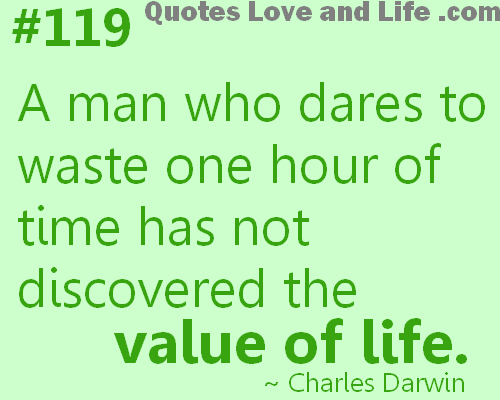 VALUE OF TIME Quotes Like Success