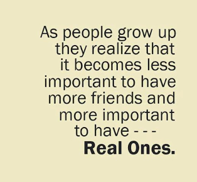 As People Grow Up They Realize That It Becomes Less Important to have