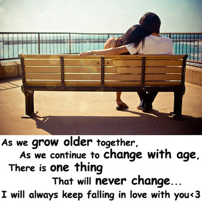 Falling in love at an older age