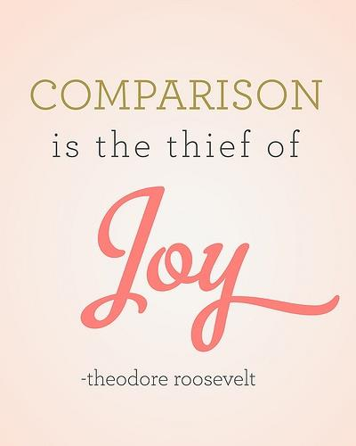 Http espictures com comparison is the thief of joy joy e 2