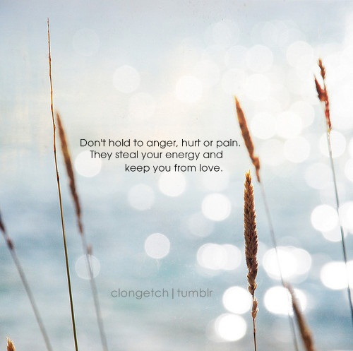 Don T Hold To Anger Hurt Or Pain They Steal Your Energy And Keep