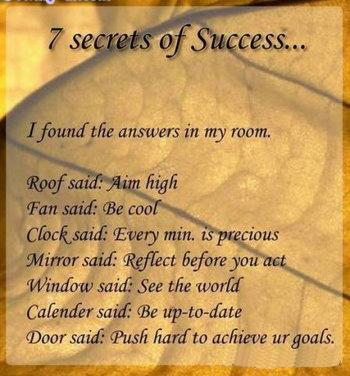 Door Said Push Hard To A Achieve Ur Goals Life Quote