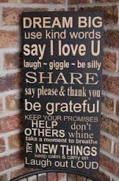 Dream Big Use Kind Words Say I Love U ~ Kindness Quote