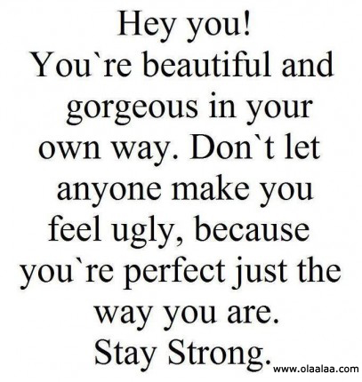 Quotes that make you feel beautiful quotesgram for What make a beautiful