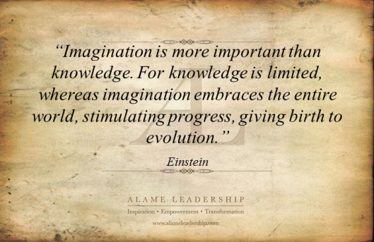 Imagination Is More Important Than Knowledge ~ Imagination ...