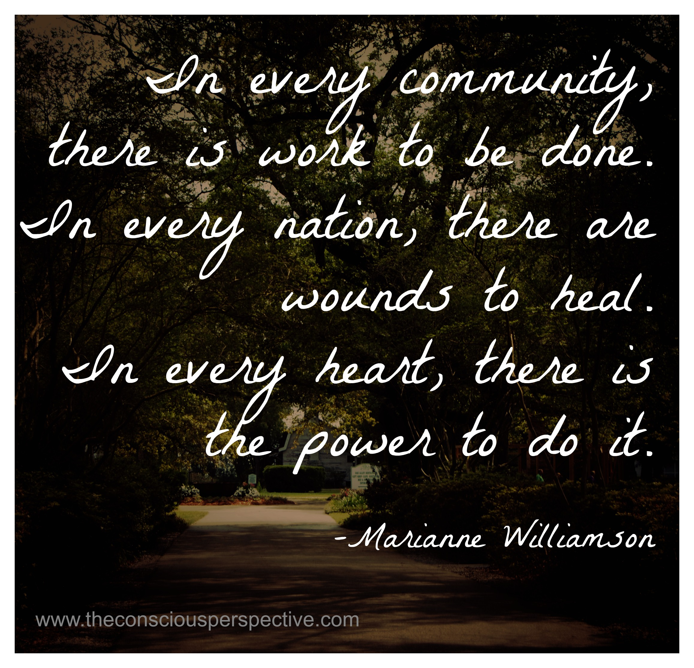 Community Quotes In Every Communitythere Is Work To Be Donein Every Nation