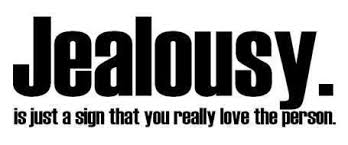 Jealousy Is Just a Sign That You Really Love The Person ~ Jealousy Quote