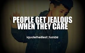 Wheb boys are jealous of a girl dating someone else