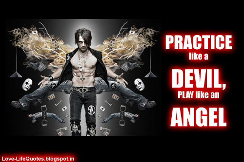 Devil And Angel Quotes: Angel And Devil Quotes Funny. QuotesGram