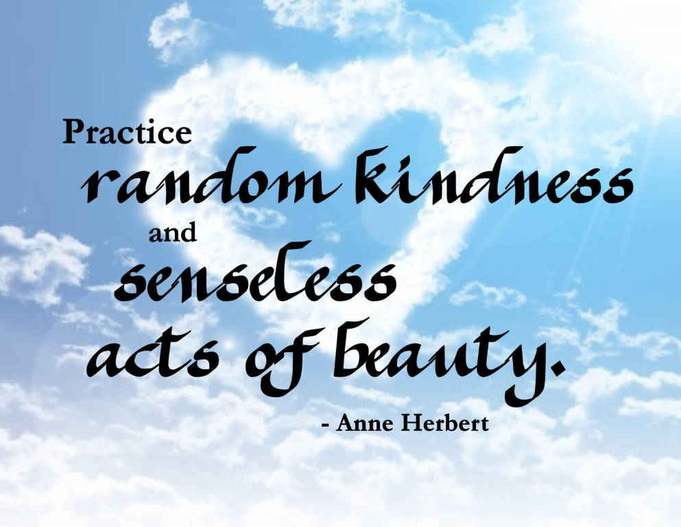 the different effects of acts of kindness and generosity Statement describing the basic virtue of kindness  may not know who you are because of the effects of alzheimer's disease, or other such acts of kindness.