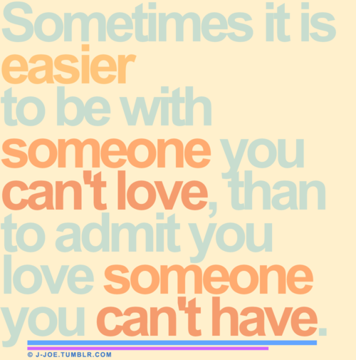 What is to be in love with someone