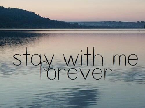 Stay With Me Forever Love Quote Quotespictures Cool Forever Love Quotes