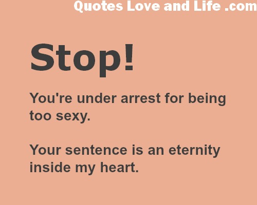 Sexy funny love quotes