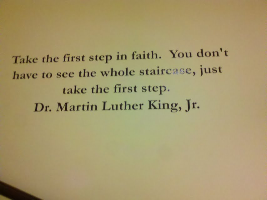 Taking The First Step Quotes. QuotesGram