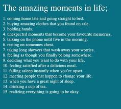 The Amazing Moments In Life ~ Laughter Quote