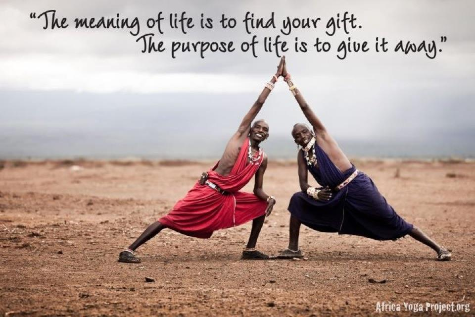 The Meaning Of Life Is To Find Your Gifte Purpose Of Life Is To