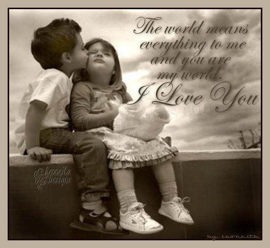 Your love means everything to me quotes