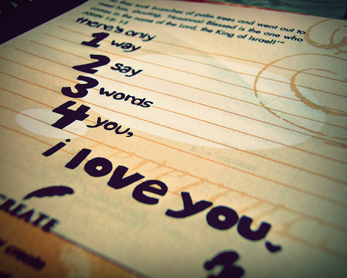 There\'s Only 1 Way 2 Say 3 Words 4 You, I Love You ~ Love ...