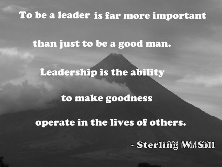 discuss the importance of good leadership Leadership is an important function of management which helps to maximize efficiency and to achieve organizational goals the following points justify the importance of leadership in a concern initiates action- leader is a person who starts the work by communicating the policies and plans to the subordinates from where the work actually starts.