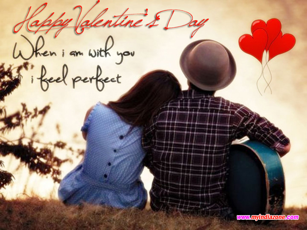 when i am with you i feel perfect love quote. Black Bedroom Furniture Sets. Home Design Ideas