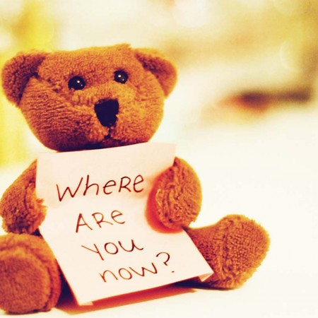 Where Are You Now! ~ Love Quote