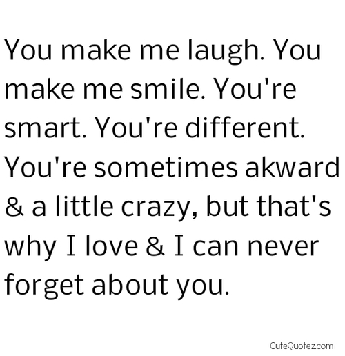 Quotes About Boyfriends Making You Smile. QuotesGram Quotes About ...