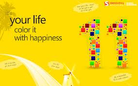 Your Life Color It With Happiness ~ Happiness Quote