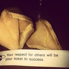 Your Respect for Others Will Be Your Ticket to Success ~ Insult Quote