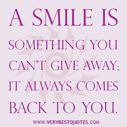 Smile Quotes We Love On Pinterest