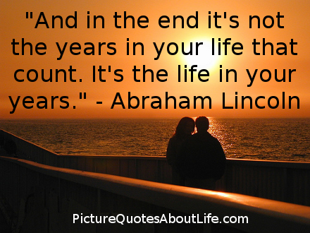 A life that counts