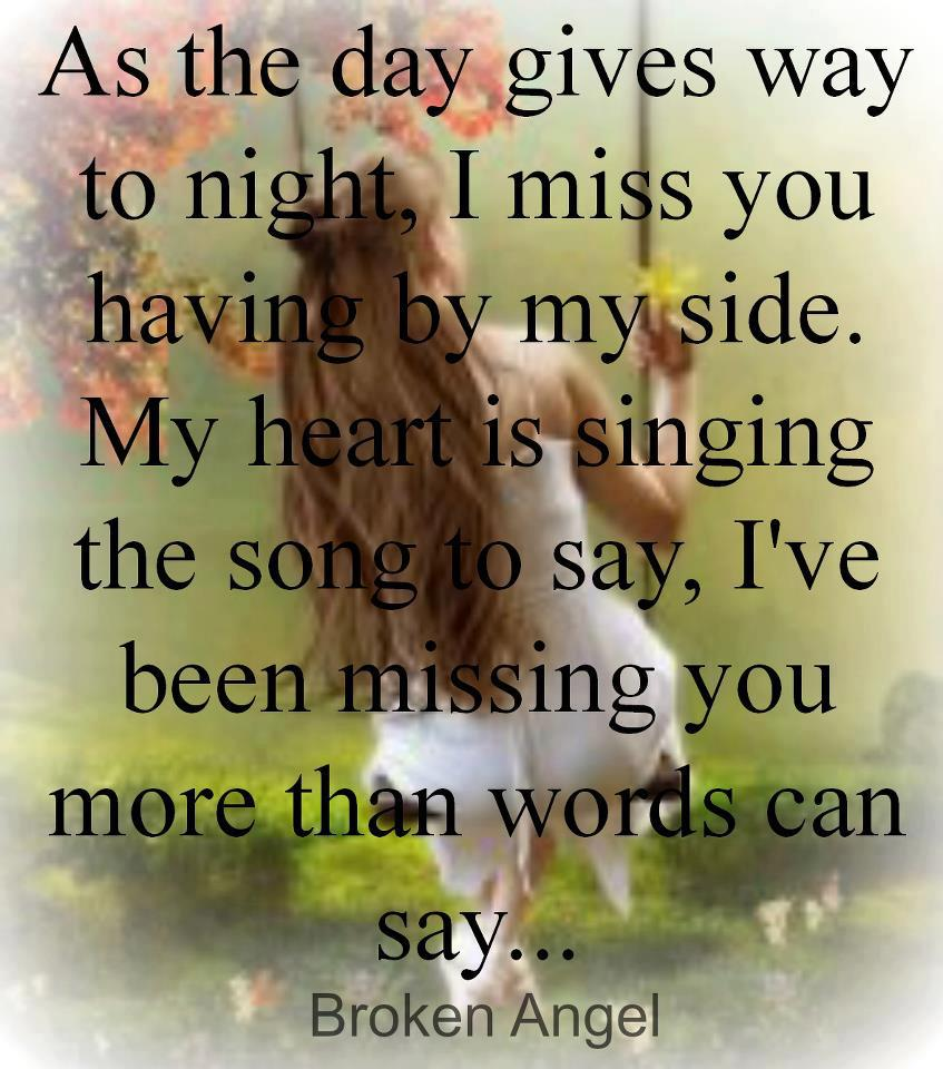 Songs that say i miss you