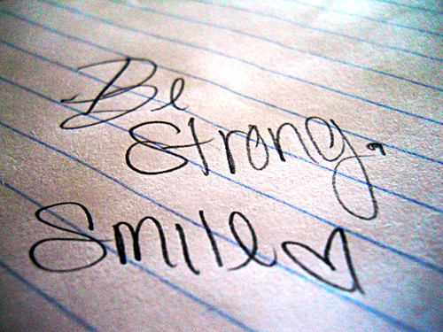Be Strong Smile Quotespictures