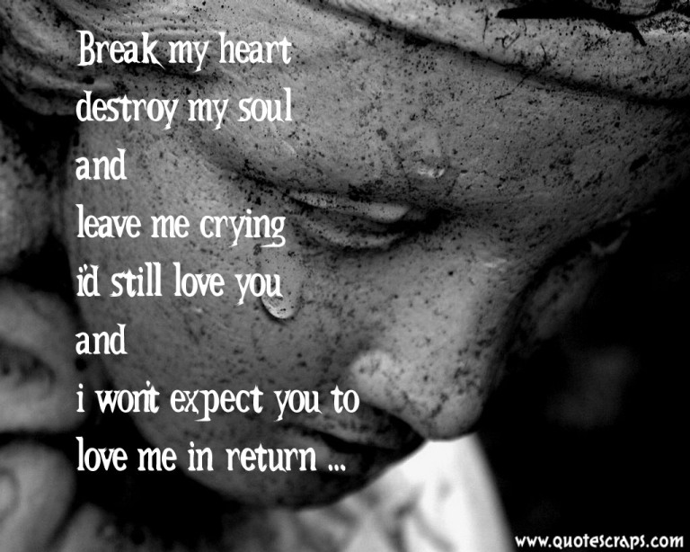 Sad Crying Quotes About Love : Quotes My Heart Is Crying. QuotesGram